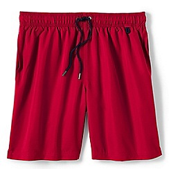 Lands' End - Red regular 8 plain swim shorts