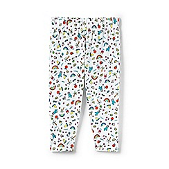Lands' End - Multicoloured toddler girls' knit pattern cropped leggings
