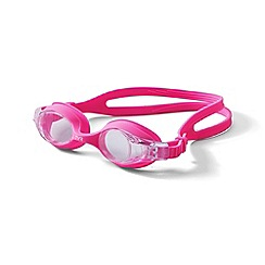 Lands' End - Girls' pink youth swim goggles