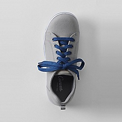 Lands' End - Grey youth canvas trainers