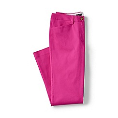 Lands' End - Purple petite cropped stretch chinos