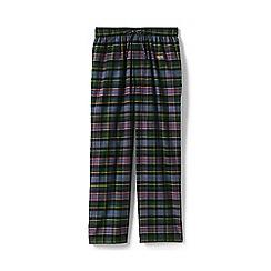 Lands' End - Black flannel pyjama bottoms