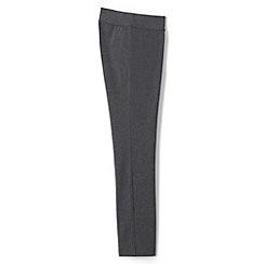 Lands' End - Grey Plus Starfish Stretch Jersey Slim Leg Trousers