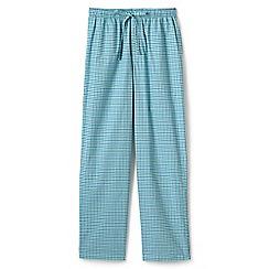 Lands' End - Green regular broadcloth pyjama bottoms