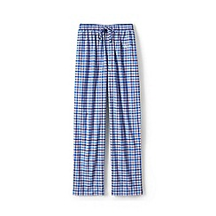 Lands' End - Blue Regular Broadcloth Pyjama Bottoms