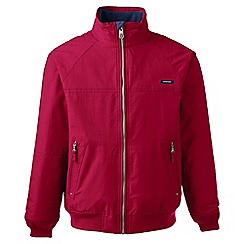 Lands' End - Red tall classic squall jacket