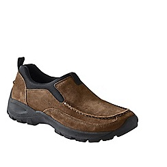 Lands' End - Beige men's everyday moccasins