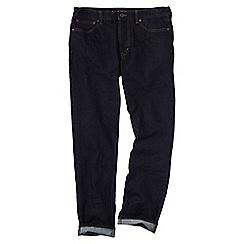 Lands' End - Blue men's stretch denim slim fit jeans