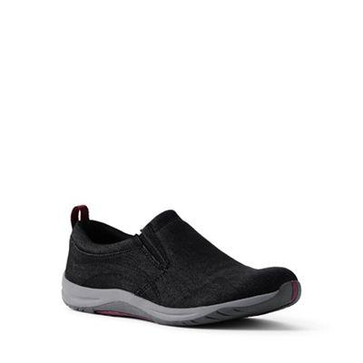 Lands' End - Black Black Black regular everyday slip-on shoes 09abfd