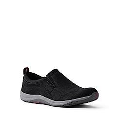 Lands' End - Black regular everyday slip-on shoes