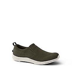 Lands' End - Green regular everyday slip-on shoes