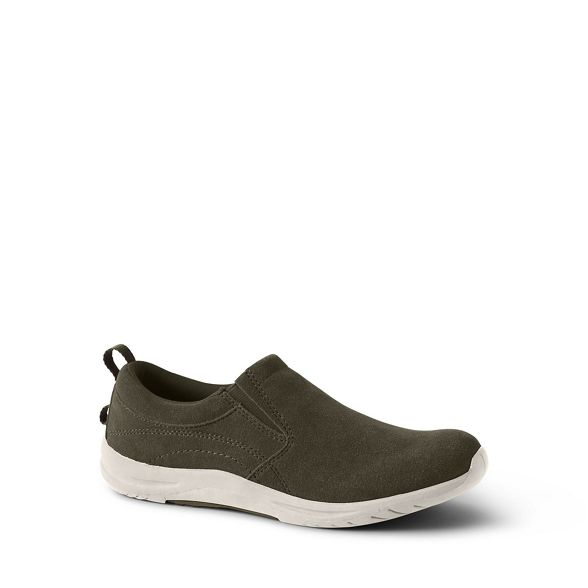 Green slip regular everyday End shoes Lands' on UqBRxqw