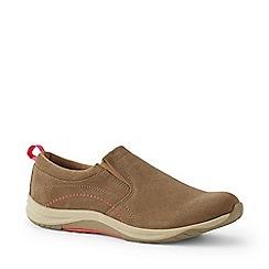 Lands' End - Brown Regular Everyday Slip-On Shoes