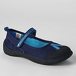 Lands' End - Blue girls' mary jane play shoes