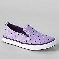 Lands' End - Purple kids' slip-on shoes