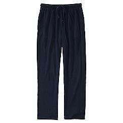 Lands' End - Blue jersey pyjama bottoms