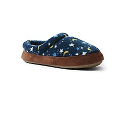 Lands' End - Multi kids' fleece clog slippers