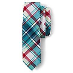 Lands' End - Boys' blue plaid tie