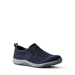 Lands' End - Blue regular everyday slip-on shoes