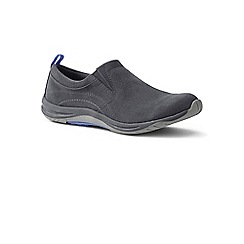Lands' End - Grey regular everyday slip-on trainers