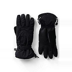 Lands' End - Black squall gloves