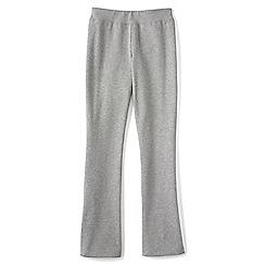 Lands' End - Grey girls' bootcut yoga pants