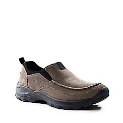 Lands' End - Brown wide everyday moccasins