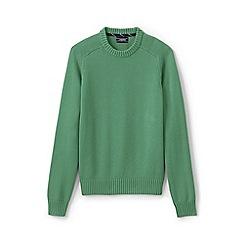 Lands' End - Green drifter cotton sweater