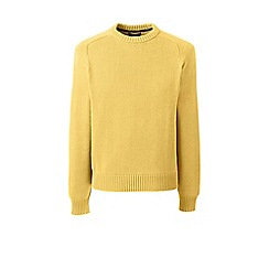 Lands' End - Yellow drifter cotton sweater