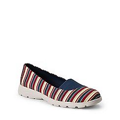 Lands' End - Multi  regular alpargata slip-on shoes