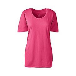 Lands' End - Pink cotton/modal sleep tee