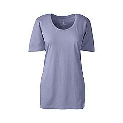Lands' End - Purple cotton/modal sleep tee