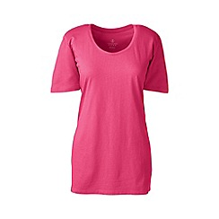 Lands' End - Pink petite cotton/modal sleep tee