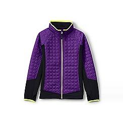 Lands' End - Purple primaloft hybrid jacket