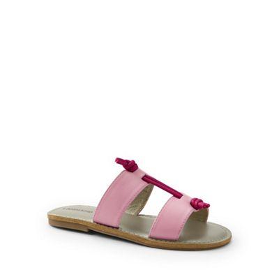 Lands' End - Pink knotted sandals