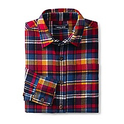 Lands' End - Multi boys' flannel shirt