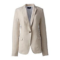 Lands' End - Beige linen jacket