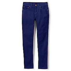 Lands' End - Girls' blue 5 pocket bootcut jean