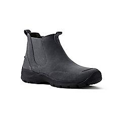 Lands' End - Grey regular everyday chelsea boots