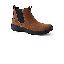Lands' End - Beige regular everyday Chelsea boots
