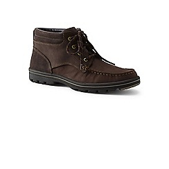 Lands' End - Brown lightweight comfort lace-up boots