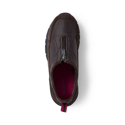 Lands' End - Brown everyday zip-front shoes