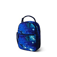 Lands' End - Blue print classmate soft side lunch box