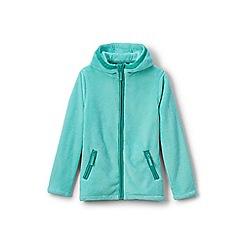 Lands' End - Toddler girls' blue softest fleece jacket