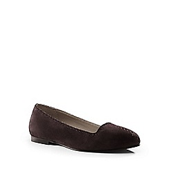 Lands' End - Brown venetian loafers