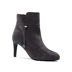 Lands' End - Grey heeled ankle boots