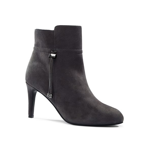 Grey boots End ankle Lands' heeled Uqx85nYZn