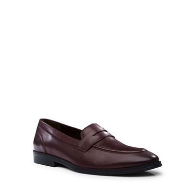 Lands' End - Red penny loafers
