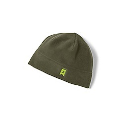 Lands' End - Green theremacheck 200 fleece beanie hat