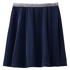 Lands' End - Blue girls' velveteen skirt